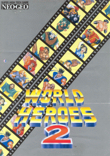 World Heroes 2 promotional flyer