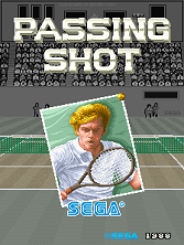 Passing Shot title screen