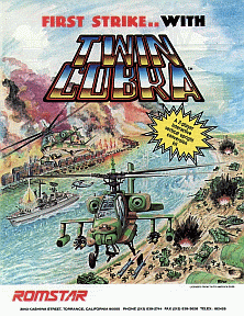 Twin Cobra promotional flyer