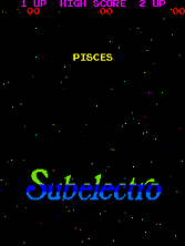 Pisces title screen
