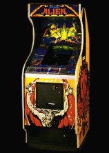 Cosmic Alien cabinet photo