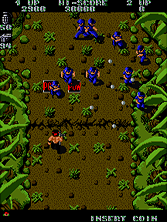 Ikari Warriors gameplay screen shot