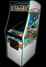 Galaxian cabinet photo