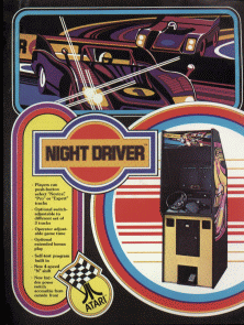 Night Driver promotional flyer