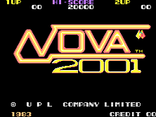 Nova 2001 title screen