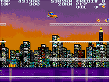 City Connection gameplay screen shot