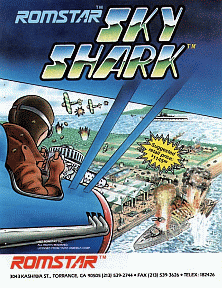 Sky Shark promotional flyer