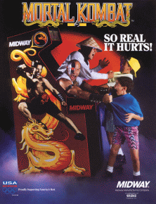 Mortal Kombat promotional flyer