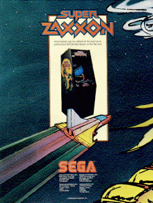Super Zaxxon promotional flyer