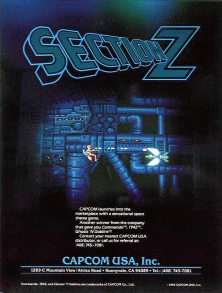 Section Z promotional flyer
