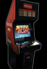 Metal Slug cabinet photo