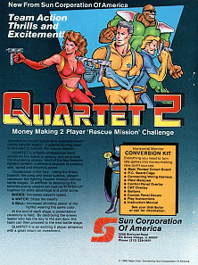 Quartet 2 promotional flyer