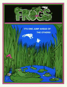 Frogs promotional flyer