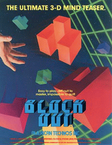 Block Out promotional flyer