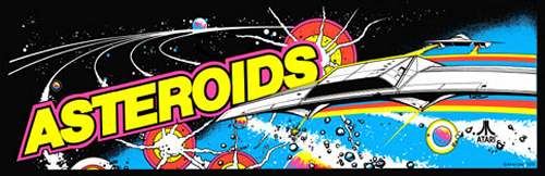'Asteroids' marquee