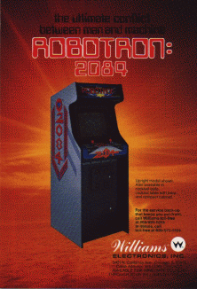 'Robotron 2084' promotional flyer