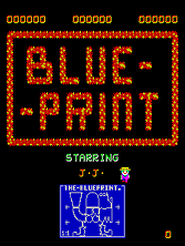 'Blue Print' title screen