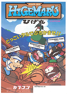 'Pirate Ship Higemaru' promotional flyer