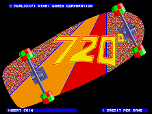 '720' title screen