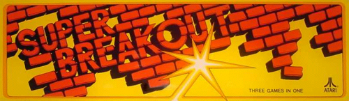 'Super Breakout' marquee
