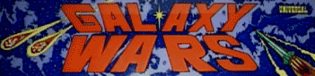 'Galaxy Wars' marquee