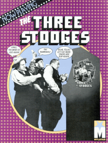 'Three Stooges' promotional flyer