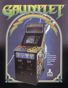 'Gauntlet' promotional flyer