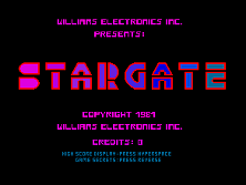 'Stargate' title screen