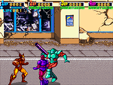 'X-Men' gameplay screen shot
