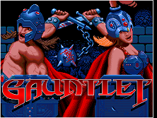 'Gauntlet' title screen