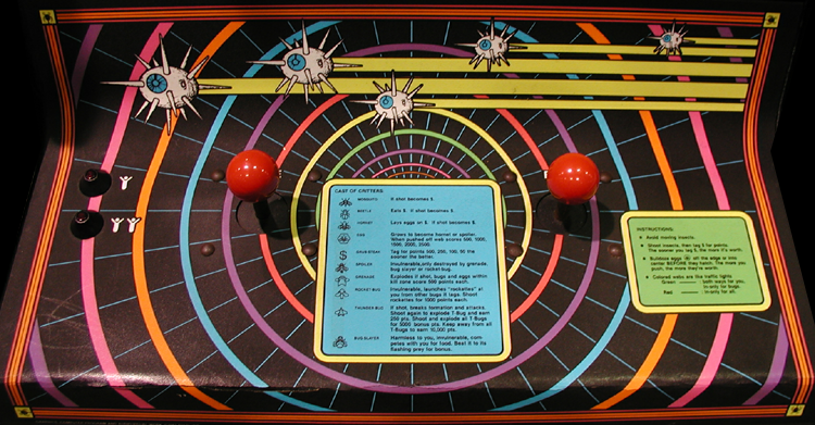 'Black Widow' control panel